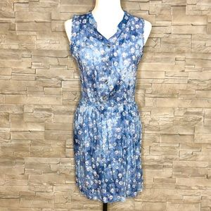 Hots-Wing blue floral dress, NWT